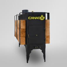 Печь дровяная CANADA с теплоаккумулятором
