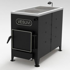 Котел твердотопливный  с варочной поверхностью 18 кВт «Vesuvi»