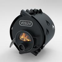 Булерьян «Vesuvi» classic «ОO» c термостойким стеклом «SCHOTT ROBAX» и защитный кожух
