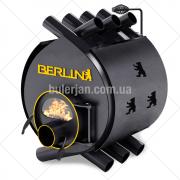 Булерьян «Berlin» classic «ОO» c термостойким стеклом «SCHOTT ROBAX» и защитный кожух