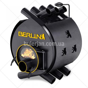 Булерьян Berlin classic ОO c термостойким стеклом SCHOTT ROBAX и защитный кожух
