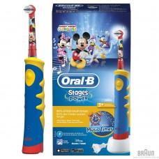 Зубная щетка Braun Oral-B Kids Mickey Mouse D10.513