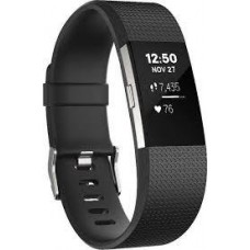 Фитнес-браслет Fitbit Charge 2 Fitness Activity Tracker Large Black БУ