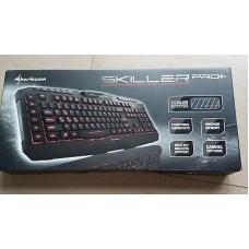 Клавиатура игровая Sharkoon Skiller Pro Plus с подсветкой