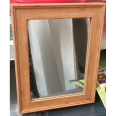 Зеркало в деревянной рамке 20*25 см