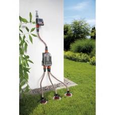Распределитель воды Gardena 6-канальный автоматический (01197) БУ
