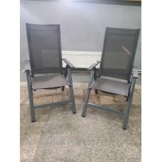Алюминиевое складное кресло Silvertree Achim  НОВОЕ