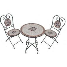 Металлический стул Garden Pleasure мозаика Amarillo