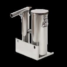 Дымогенератор с охладителем и конденсатосборником 1,5л нержавейка